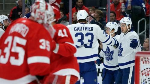 Maple Leafs beat Red Wings to snap three-game losing streak