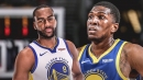 Alec Burks, Kevon Looney haven't been cleared to practice yet
