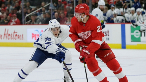 Maple Leafs' depth steals spotlight from front-line talent to beat Red Wings