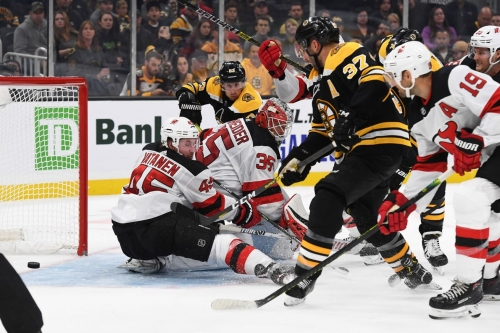 Hynes Keeps Nonfunctional Lines Intact, Devils Shutout by Bruins 3-0