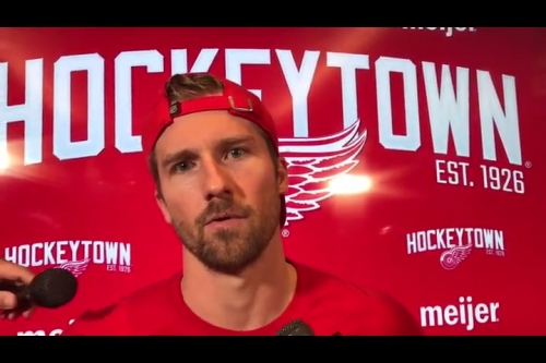 Detroit Red Wings' 4th line buying into how to be successful