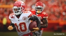 Chiefs WR Tyreek Hill set to play vs. Texans