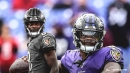 Ravens' Lamar Jackson takes option keeper and dives into end zone for quick TD vs. Bengals