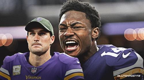 Vikings' Kirk Cousins goes deep for 62-yard TD to Stefon Diggs vs. Eagles