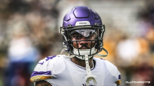 Vikings video: Stefon Diggs toe-taps in back of end zone for 3rd TD vs. Eagles