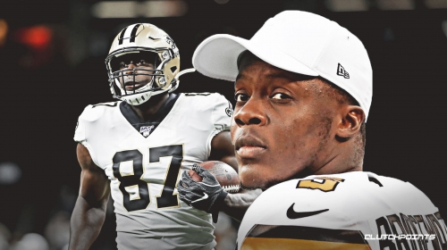 Saints' Teddy Bridgewater hits Jared Cook for first TD of game vs. Jaguars