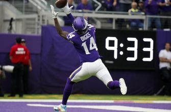 Cousins, Diggs fly past Eagles in Vikings' 38-20 win