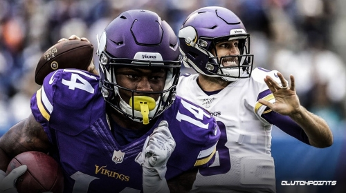 Vikings WR Stefon Diggs says Kirk Cousins 'played his balls off' in victory over Eagles