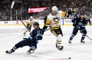 Jets leak oil in blowout loss to Penguins