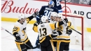 Aston-Reese's three-point night powers Penguins to rout of Jets