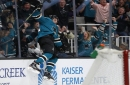 Logan Couture, Martin Jones lead Sharks past Calgary Flames