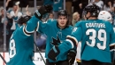 Sharks top Flames in Marleau's first game back in San Jose