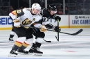 Kings' penalties prove costly in 5-2 loss to Golden Knights