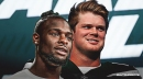 Jets RB Le'Veon Bell reacts to having Sam Darnold back vs. Cowboys