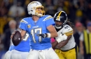 """Philip Rivers was """"disappointed"""" with the loss, and why he grabbed Mike Hilton at the end of the game"""