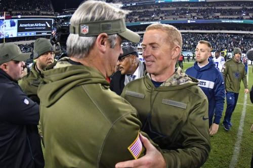 Eagles head coach Doug Pederson guaranteed a win over the Cowboys on Sunday night