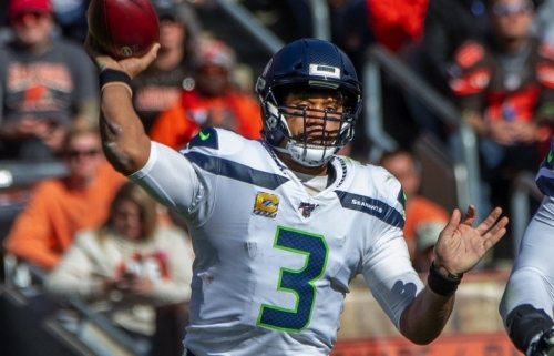 Seahawks' Russell Wilson strengthens his case for NFL MVP with another astonishing performance