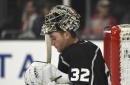 Kings' Jonathan Quick is struggling again this season, but his new coach has faith in him