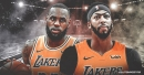 Lakers to sit LeBron James, Anthony Davis on Monday vs. Warriors