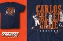 Carlos Correa walk-off home run t-shirt by Breaking T