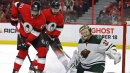 Stalock perfect in net as Wild shut out Senators for first win