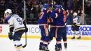 Devon Toews score in overtime as Islanders stun Blues