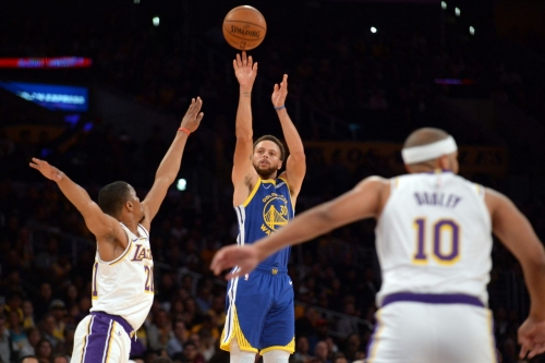 Warriors drop another preseason game against the Lakers 104-98