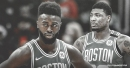 Celtics' Jaylen Brown talks trash to Marcus Smart in practice to ramp up the intensity