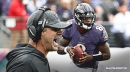Ravens coach John Harbaugh would like to see Lamar Jackson avoid 'certain hits'