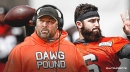 Browns coach Freddie Kitchens has 'no doubt' that Baker Mayfield will play vs. Patriots