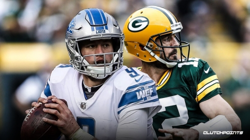 Lions QB Matthew Stafford's wife goes off on refs on Instagram after loss to Aaron Rodgers