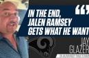 NFL on FOX Insider Jay Glazer details the Jalen Ramsay trade to the LA Rams