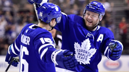 Morgan Rielly ties franchise record as Maple Leafs top Wild