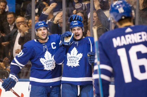 Leafs stars light the lamp with a little help from Morgan Rielly in win over Wild