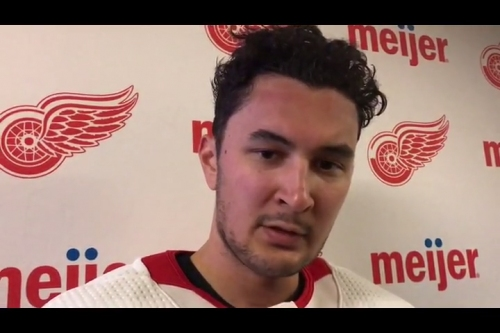 Detroit Red Wings debating tinkering with top line to reignite offense