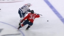 Maple Leafs' Mikheyev blows by Capitals to score breakaway goal
