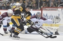 Penguins stars shine bright as depleted squad beats Avalanche in overtime