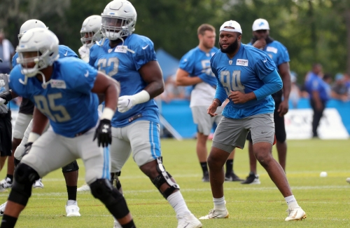 Detroit Lions rookie Austin Bryant, injured, but 'when my time comes, I'll be ready'