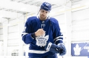 Leafs captain John Tavares will miss at least two weeks with a broken finger