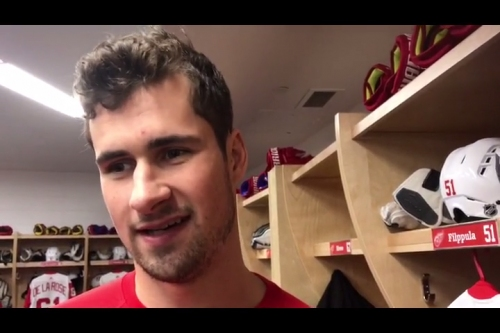 Dylan Larkin on ex-Red Wings GM Ken Holland: Supportive but stern when needed