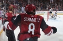 Chemistry old and new powering Arizona Coyotes' Nick Schmaltz, Christian Dvorak