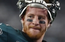 An Eagles player is criticizing Carson Wentz ahead of Sunday's matchup against Cowboys