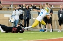 UCLA Bruins Lead Stanford Cardinal at Halftime, 21-10