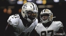 Alvin Kamara, Jared Cook still not back at practice Friday ahead of game vs. Bears