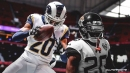 Vidoe: Rams' Jalen Ramsey delivers big hit to force Falcons fumble