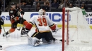 Cam Talbot's spectacular performance giving Flames more options in net