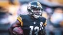 Steelers WR James Washington returned to practice