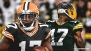 Davante Adams reacts to Packers' win over Raiders