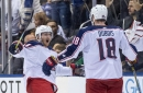 Blue Jackets walk off Leafs on Gustav Nyquist's OT penalty shot winner