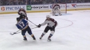 Tarasenko scores after Schwartz finds him with bank-pass off end boards